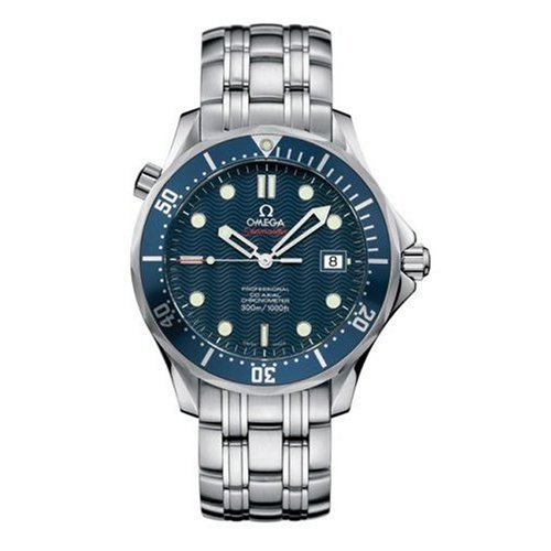 "Omega Men's 2220.80.00 Seamaster 300M Chrono Diver ""James Bond"" Watch Review"