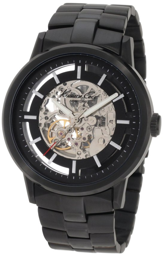 Kenneth Cole New York Men's KC3981 Black-Link Translucent Watch Review