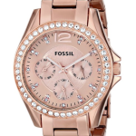 Fossil Quartz Rosegold Gem Dial Rosegold Band – Women's Watch ES2811 Review
