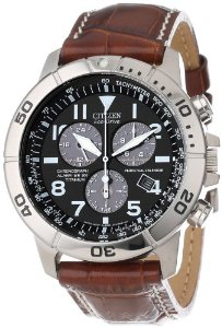 "Citizen Men's BL5250-02L ""Eco-Drive"" Leather and Titanium Watch Review"