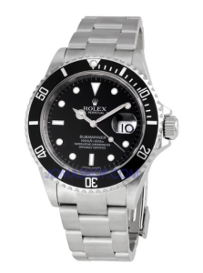 Men's Rolex Oyster Precision Submariner Chronometer Stainless Steel Watch Review
