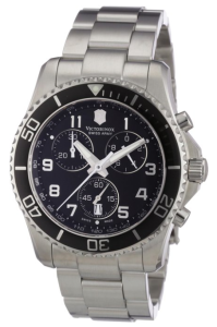 Victorinox Swiss Army Men's 241432 Maverick GS Black Chronograph Dial Watch Review