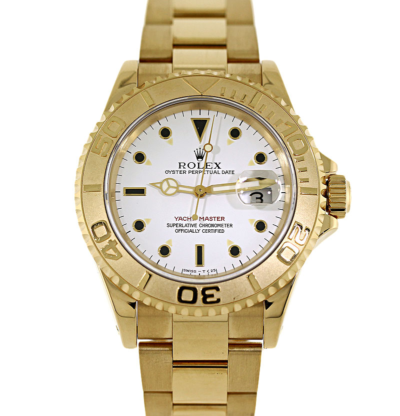 Review: Rolex 18k Yellow Gold Yachtmaster Model 16628