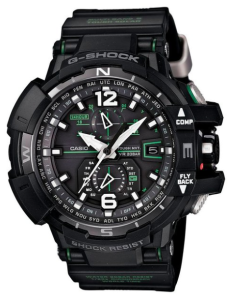 Casio G-Shock GWA-1100-1A3 G-Aviation Watch Review