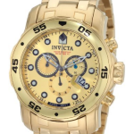 Invicta Men's 0074 Pro Diver 18k Watch Review