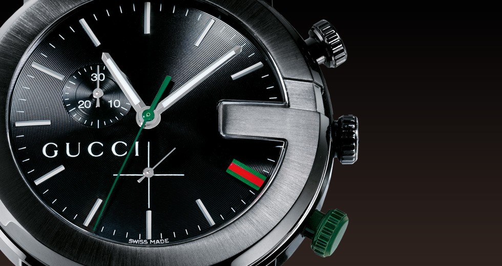 Gucci is famous for their high end Italian watches